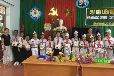 Đại hội Liên đội trường Tiểu học Lý Thường Kiệt nhiệm kì 2018-2019