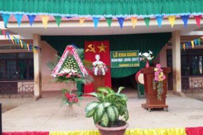 Khai giảng năm học mới 2016 – 2017