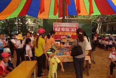 Trường tiểu học Lý Thường Kiệt tổ chức Ngày hội đọc sách